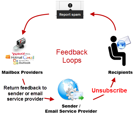 SPAM Feedback Loop