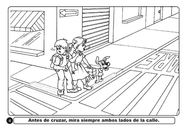 Nº 2024 NIVEL PRIMARIA: SEGURIDAD VIAL - IMÁGENES