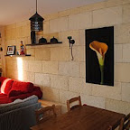 revestimiento rustico en paredes de interior