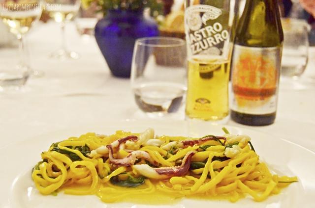 travel toskana| siena restaurant tip - osteria  le logge | luzia pimpinella