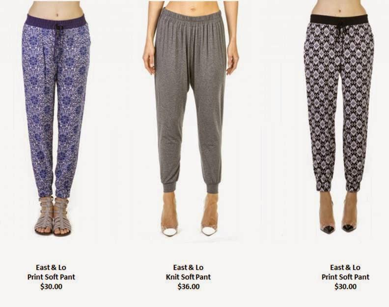 East & Lo Spring Pants