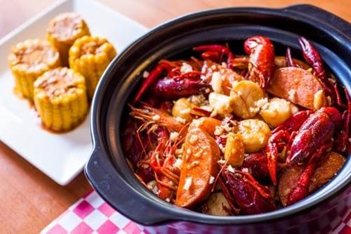 Đặc sắc món ngon Crawfish sốt cajun tại Sài Gòn-1