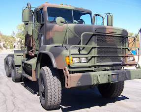 Freightliner M 916 A del Ej. Argentino