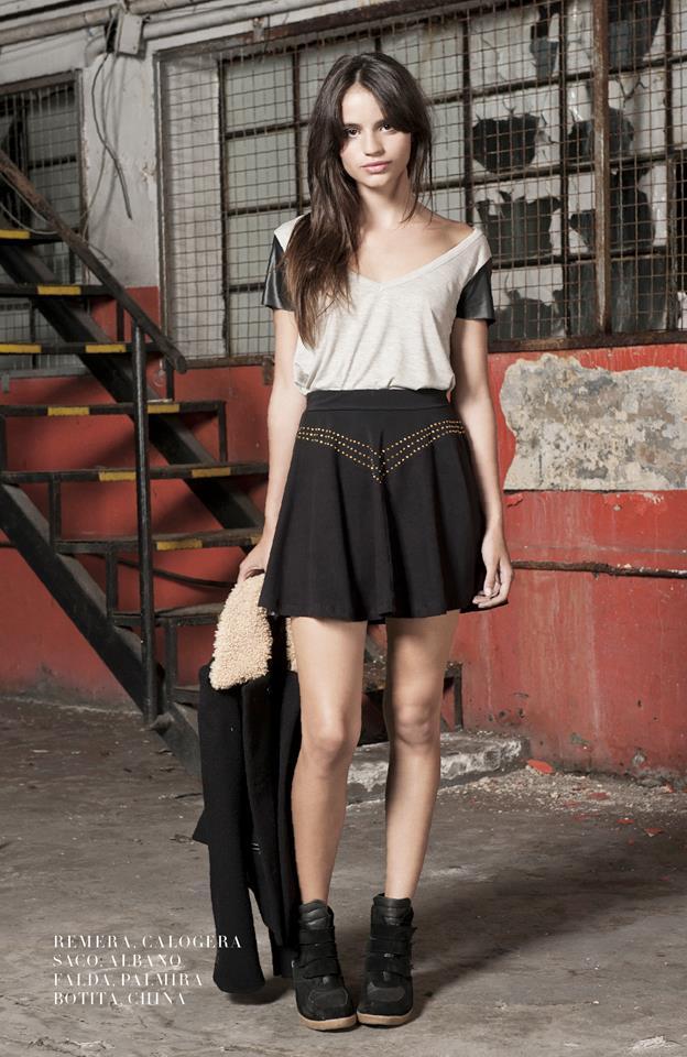 faldas cortas Delaostia invierno 2013
