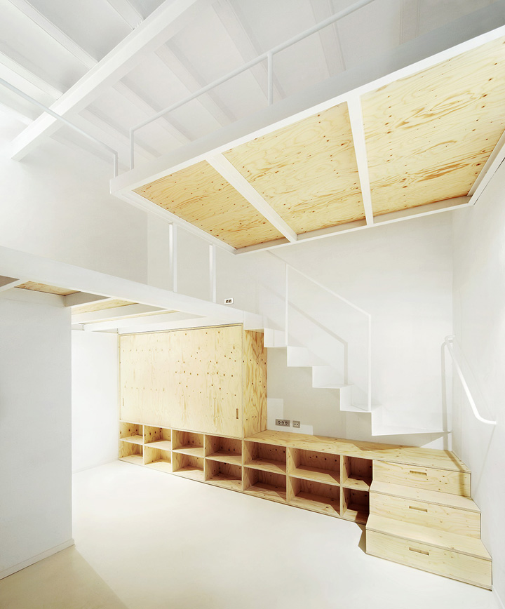 Dormitorio reforma vivienda en el Born. Arquitectura-G