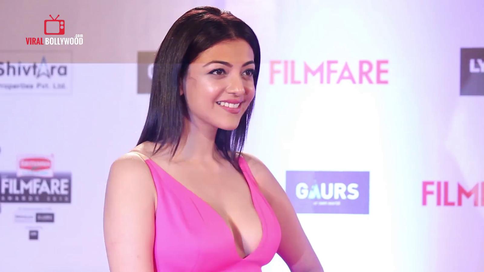 Kajal Agarwal at Filmfare Awards 2016 HQ gallery   Creative Colours
