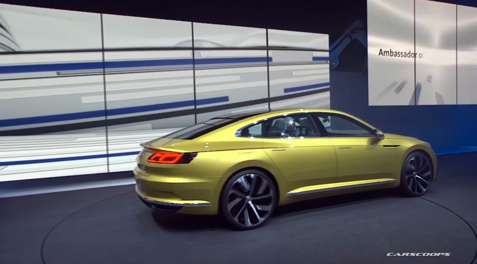 New VW Sport Coupe Concept GTE Slots Between Passat and Phaeton ...
