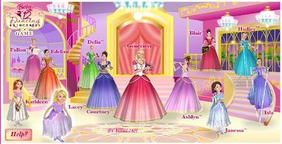 barbie in the 12 dancing princesses game free download