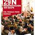 IU Mérida se suma a la manifestación del 29N y llama a los y las emeritenses a acudir.