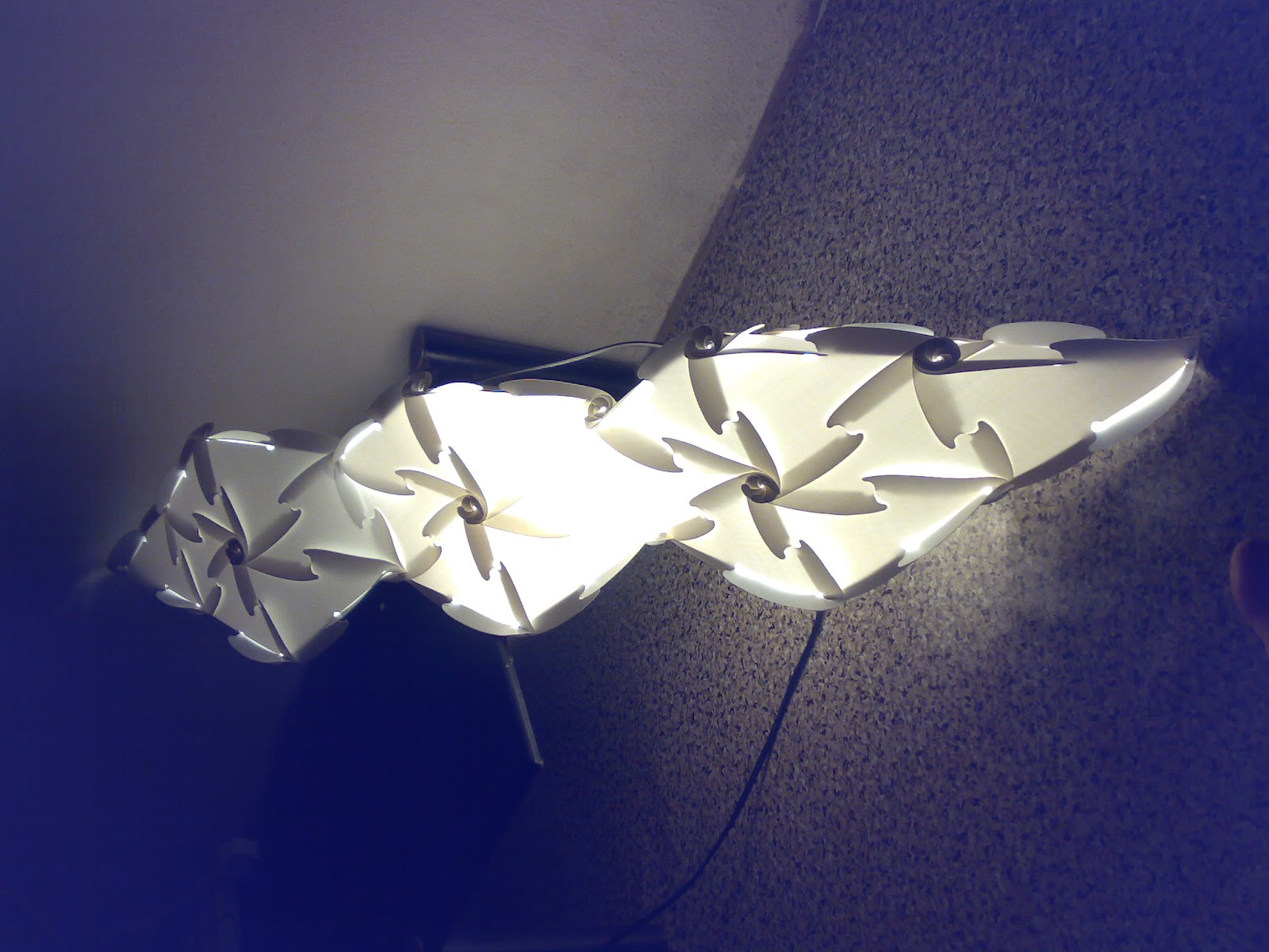 vlightdeco iq light puzzle pendant jigsaw lamp styles iq light jigsaw lamp vlightdeco triagle. Black Bedroom Furniture Sets. Home Design Ideas