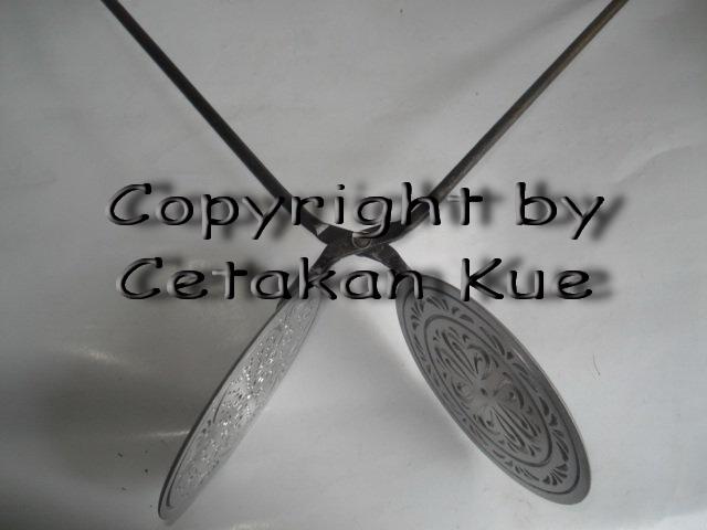 Cetakan Kue Semprong / Egg Roll Mini Alumunium
