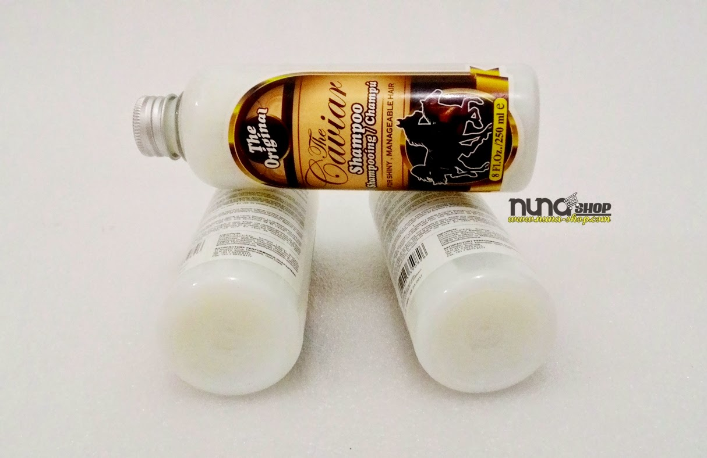 Caviar Shampoo Original (Shampo Kuda) Penumbuh Rambut Alami