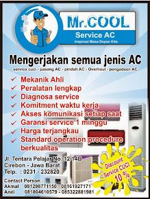 MR.COOL ( Jasa Service AC Domisili Cirebon )