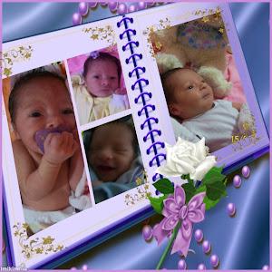 Minha netinha Nicolle