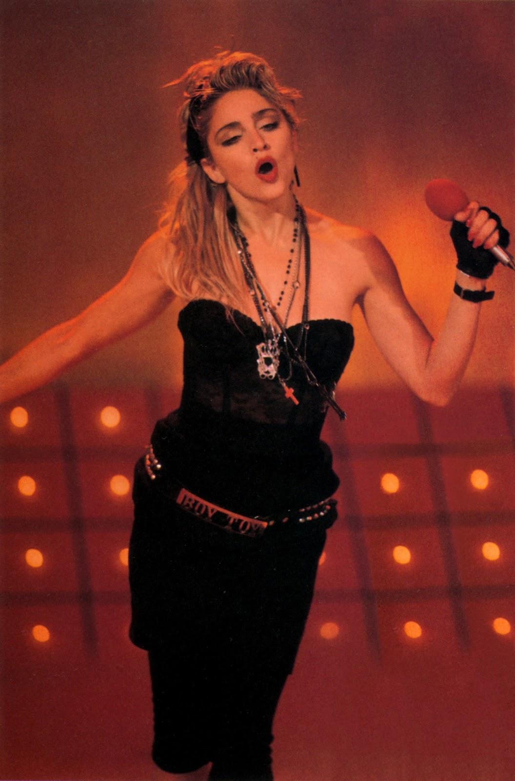 Madonna like a virgin tour 1985
