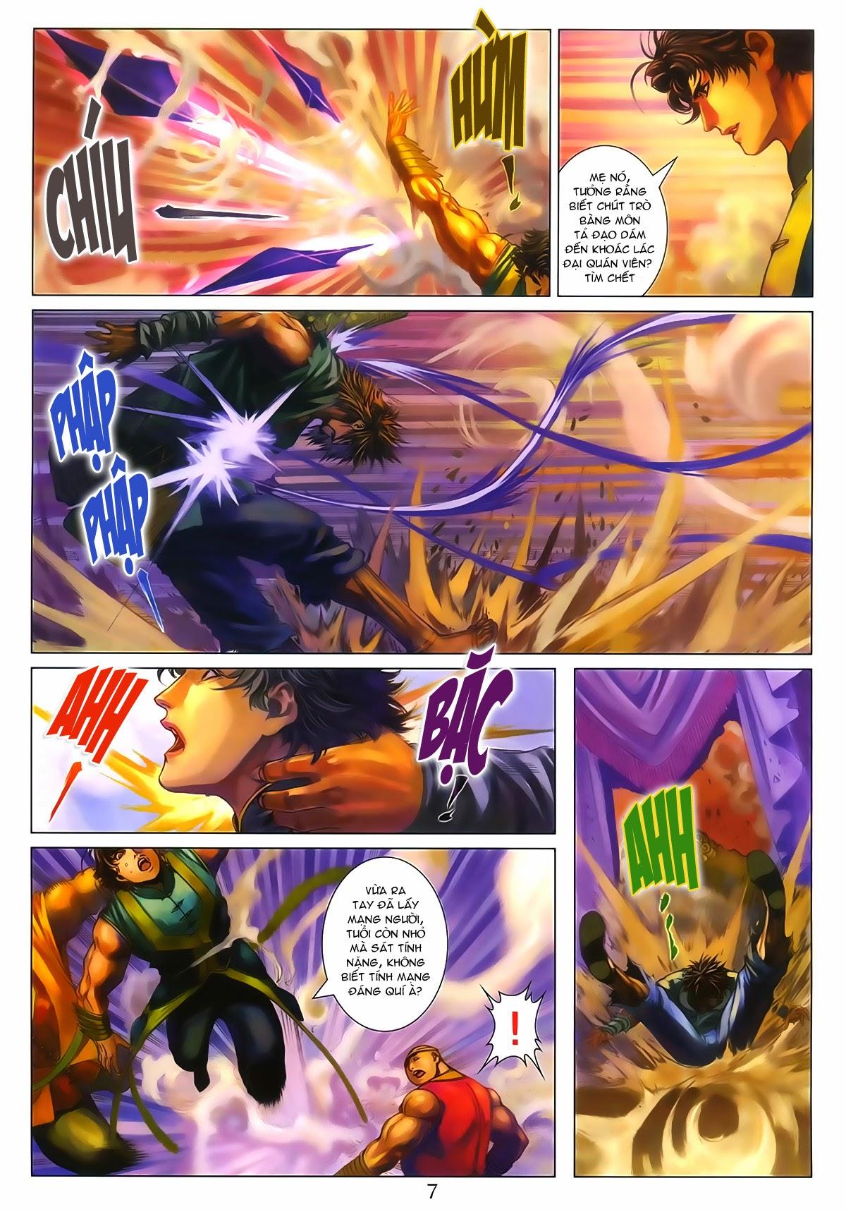 Tứ Đại Danh Bổ Chap 286 - Trang 7