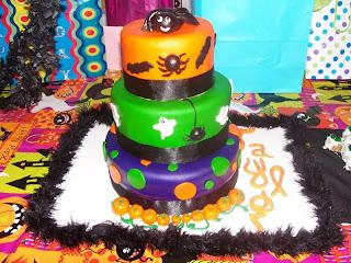 Beautiful Halloween Birthday Cakes For Girls
