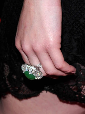 Christina Hendricks Diamond Ring