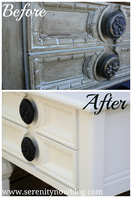 Furniture Makeover with Paint, Serenity Now blog