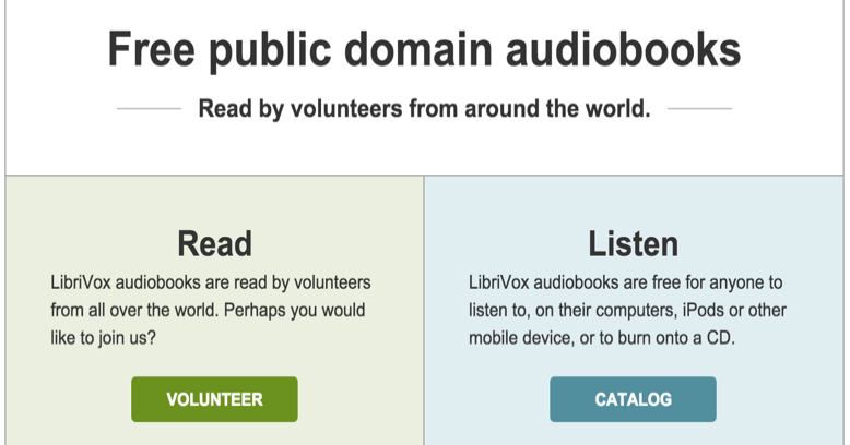 LibriVox Offers Tons of Free Public Domain Audiobooks to Use with Students