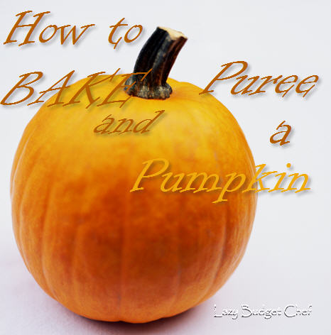Lazy budget chef how to bake puree fresh pumpkin - Extraordinary accessories for halloween decoration with pumpkin eating another pumpkin carving ...
