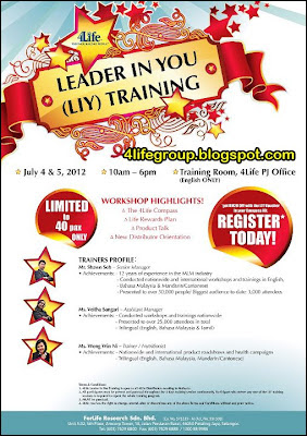 Leader In You (LIY) Training 2012