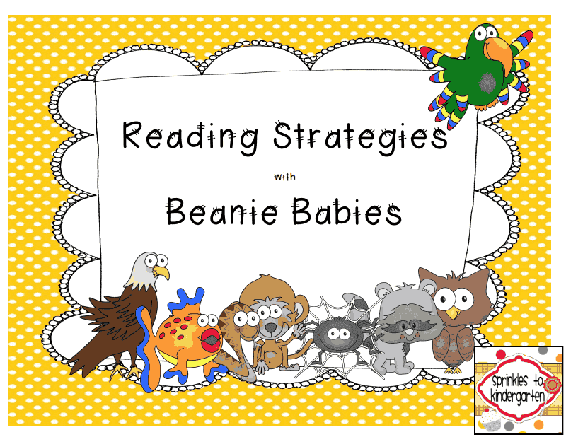 http://www.teacherspayteachers.com/Product/Reading-Strategies-with-Beanie-Babies-1316481
