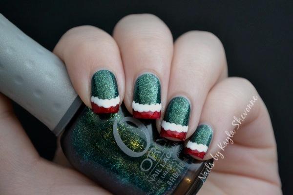 Nails By Kayla Shevonne Christmas Nail Art Tutorial Fun Christmas