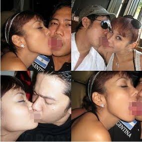 Foto Panas Anita Hara Sedang Ciuman Bibir Lidah Dengan Cowok