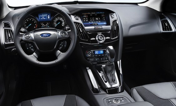 Interior view of 2012 Ford Focus