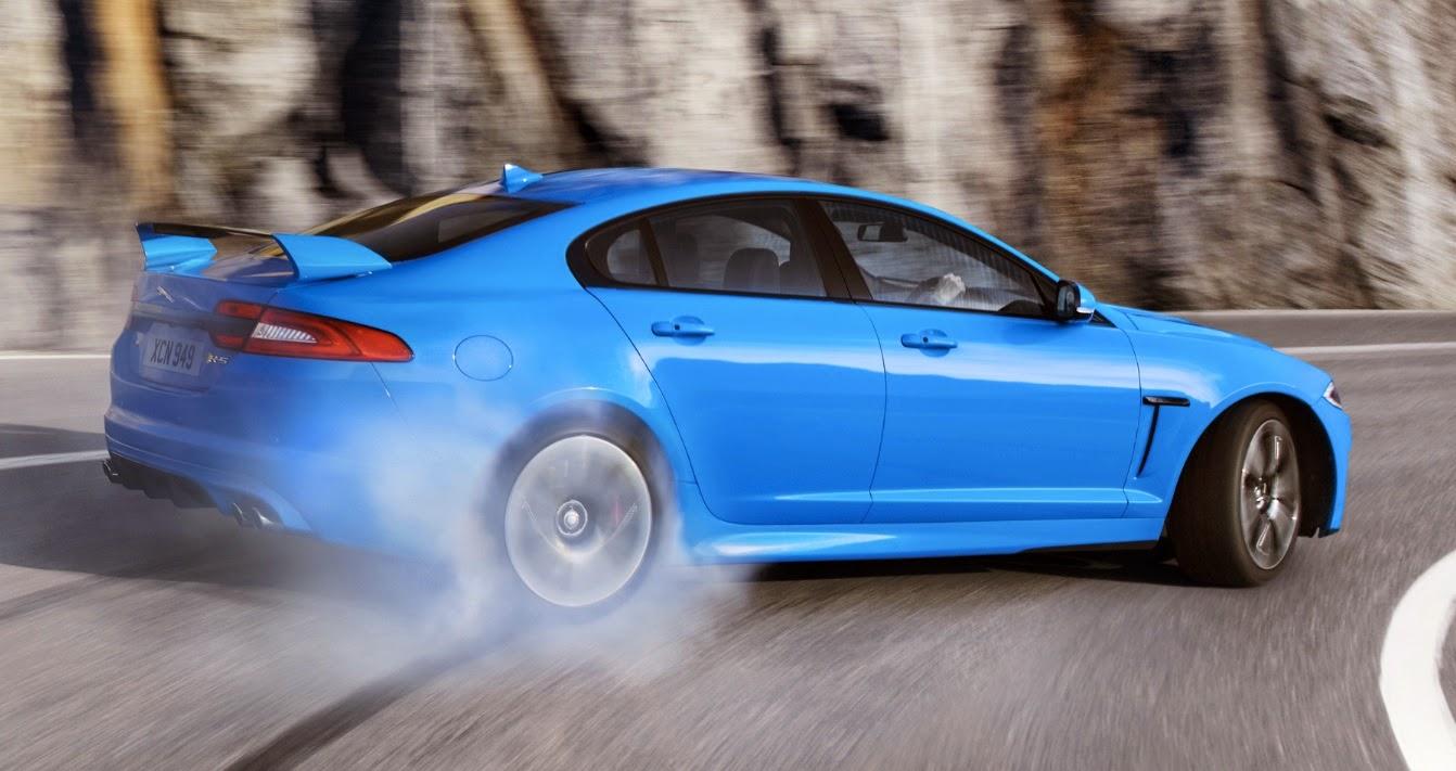 Jaguar XFR-S oversteering