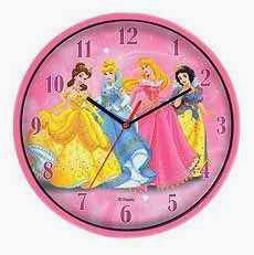 Reloj de Pared de las Princesas Disney