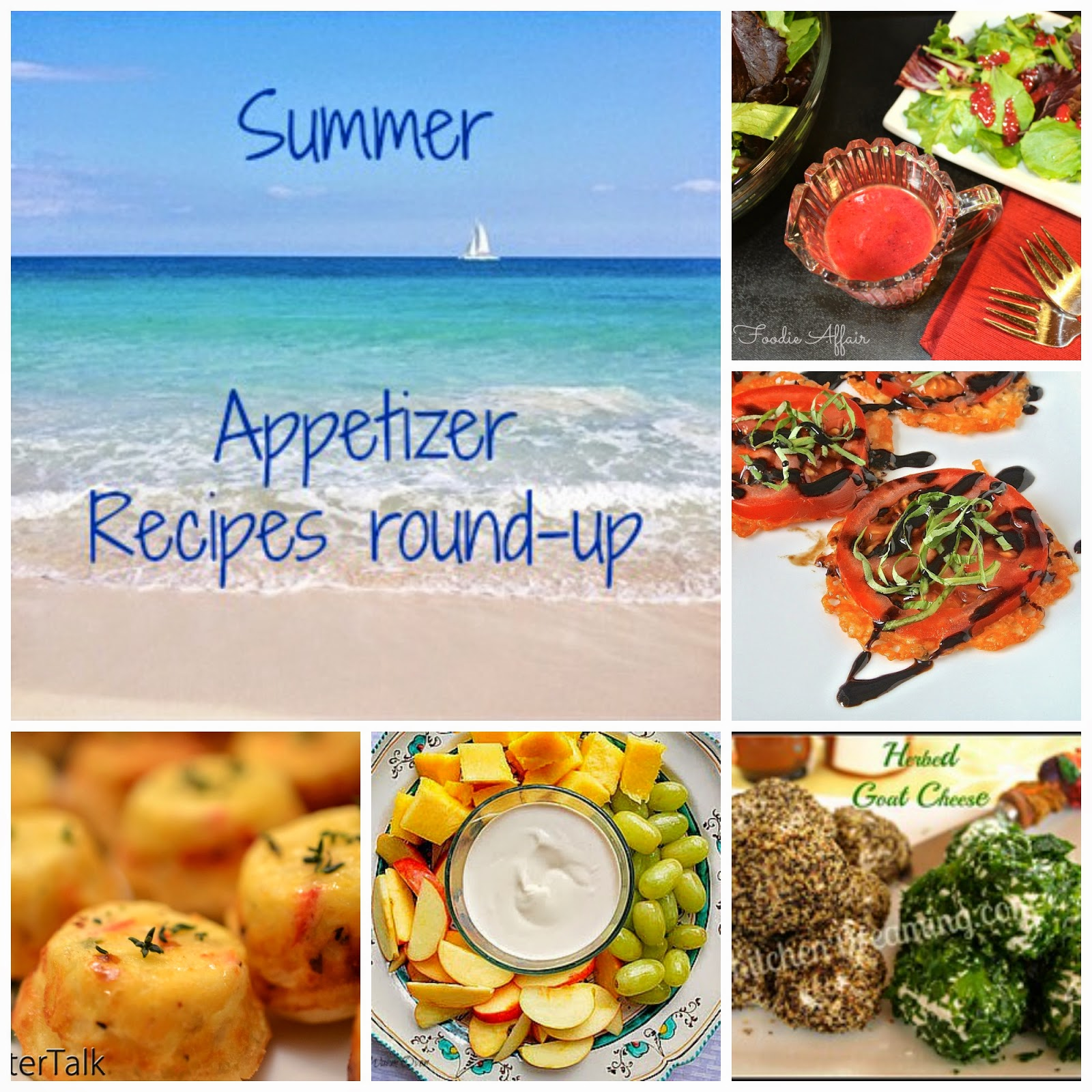 Summer appetizer recipes round-up