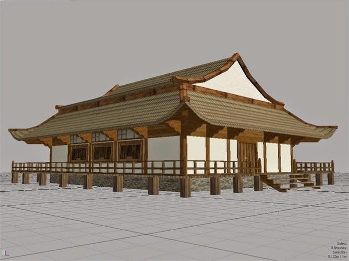 Apuntes de cultura japonesa - Casas japonesas tradicionales ...
