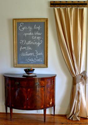 Foyer Decorating