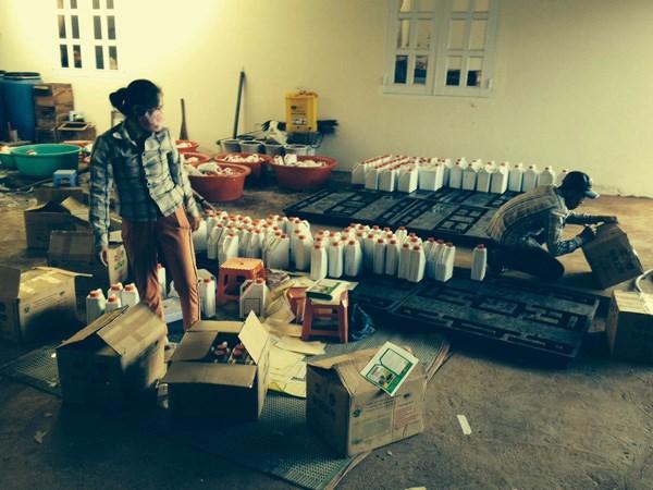 Phát hiện vụ sản xuất phân bón lậu lớn nhất tại Gia Lai từ trước đến nay