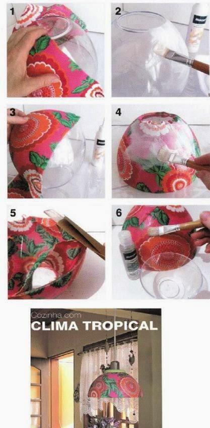 decoracao cozinha diy:DIY Decoração: Lustres e Luminárias DIY perfeitos para Cozinha