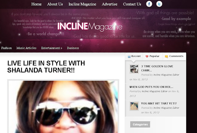 Live Life in Style on INCLINE MAGAZINE