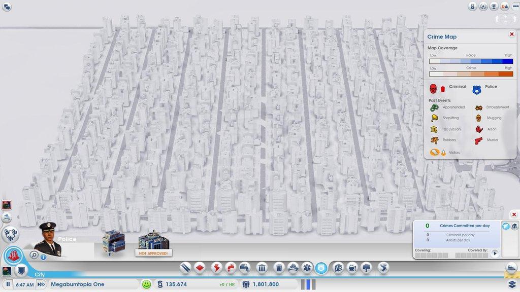 Фото 1: 1,8 млн жителей в SimCity