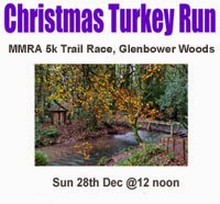 5k trail race in Killeagh, East Cork...Sun 28th Dec