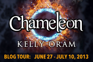 Chameleon by Kelly Oram blog tour