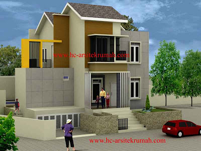 Contoh Gambar Rumah Minimalis 21