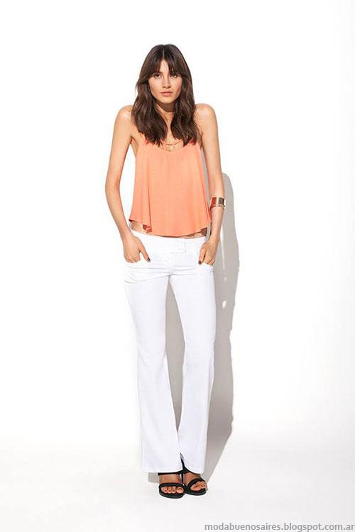 Pantalones primavera verano 2015 MAB moda mujer 2015.