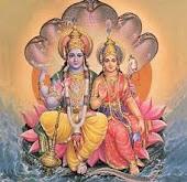Vishnu e Lakshmi