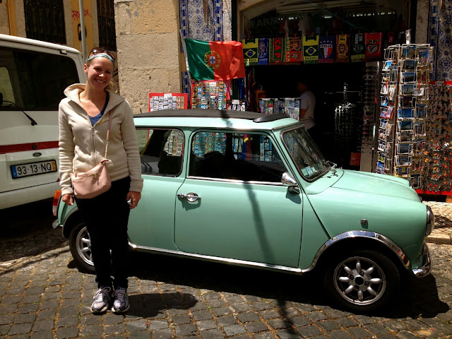 Tiny car in Lisbon on Semi-Charmed Kind of Life
