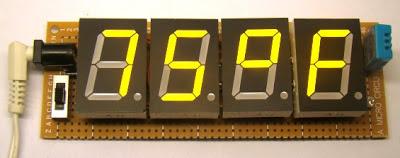 Termometro e medidor de umidade relativa com PIC
