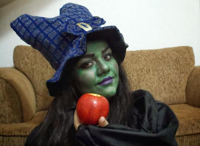 Tutorial de Maquiagem Halloween: A Bruxa