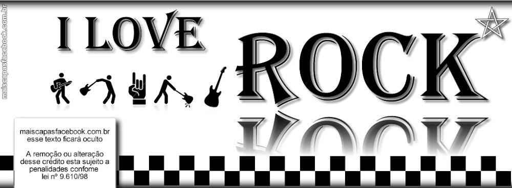 capa para facebook interativa rock in roll
