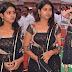 TV Anchor Anarkali Churidar