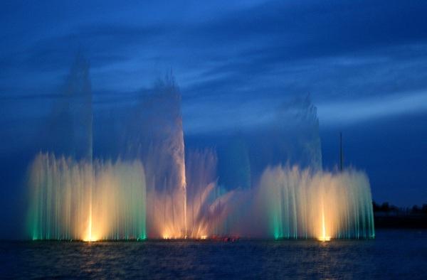 фонтаны Санкт-Петербурга